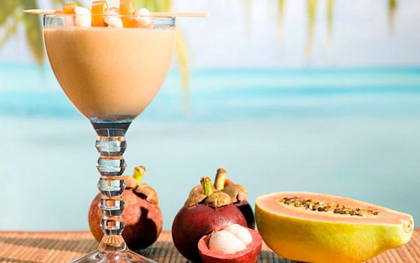 фрукты и напитки в тайланде