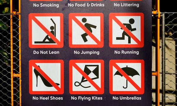 правила для туристов Сингапура