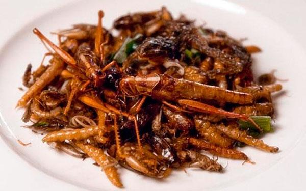 тайская экзотическая еда