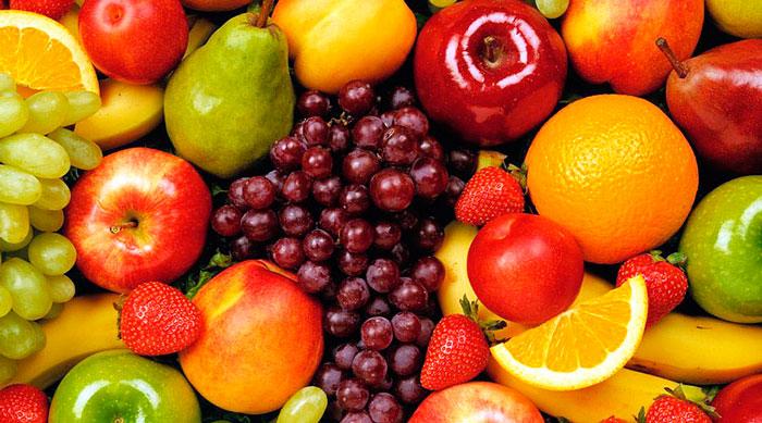 фрукты в Испании в декабре