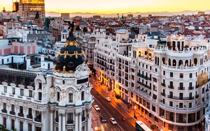 Погода в Мадриде