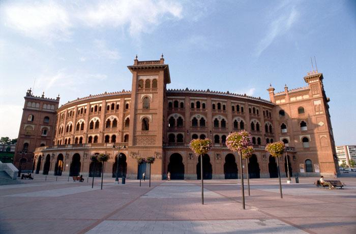 Арена для корриды на площади Де Торрес