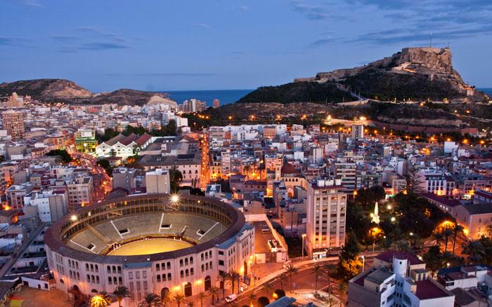 Испания в феврале