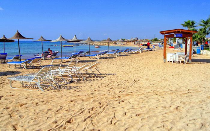 пляж Агия Фекла