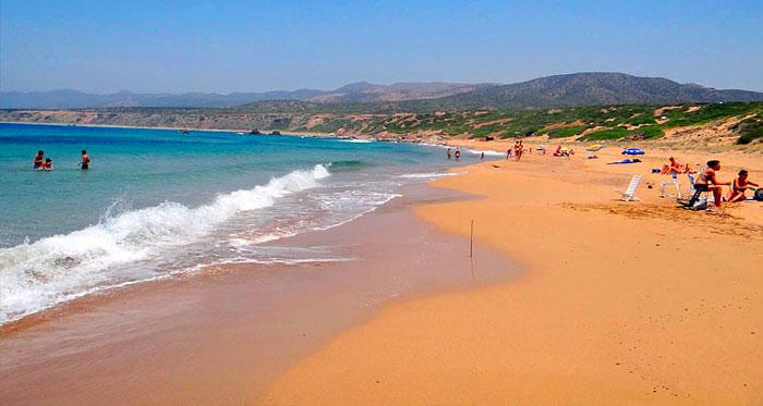 пляж Лара