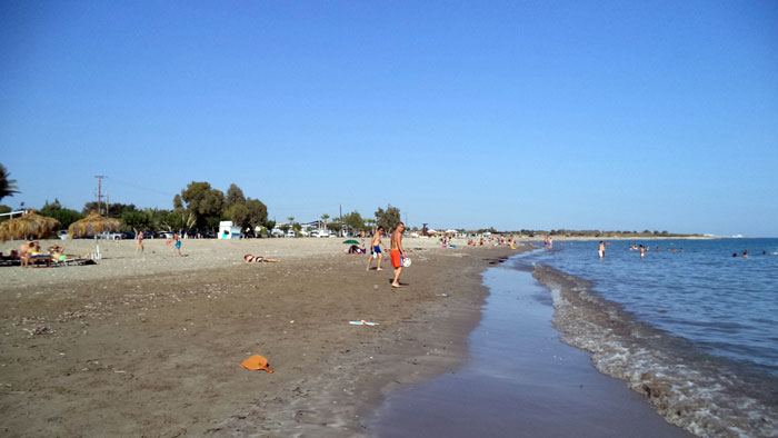 пляж Риккос