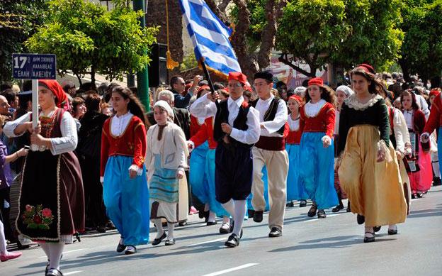 Праздники в Греции в марте