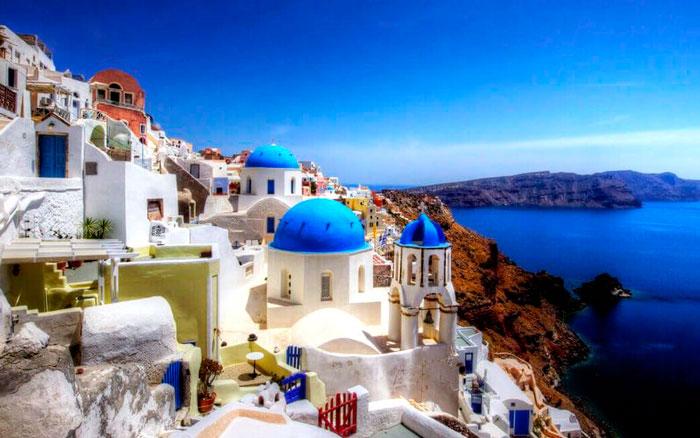 Греция в апреле