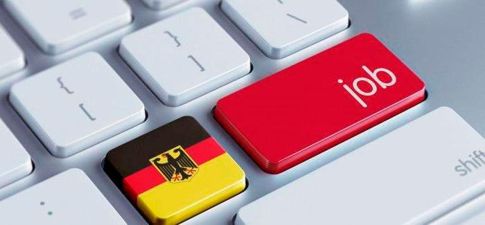 Работа в Германии