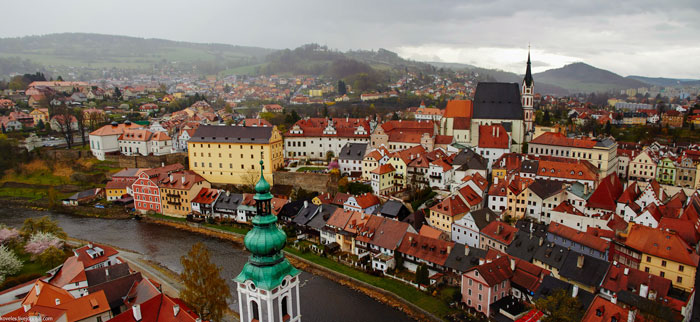 Время в Чехии