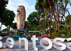 Остров Сентоза — центр развлечений в Сингапуре